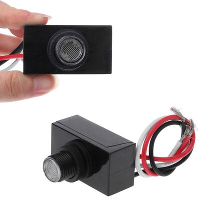 2 Outdoor Electric Resistor Photocell Light Control Sensor Switch Jl103a In Us
