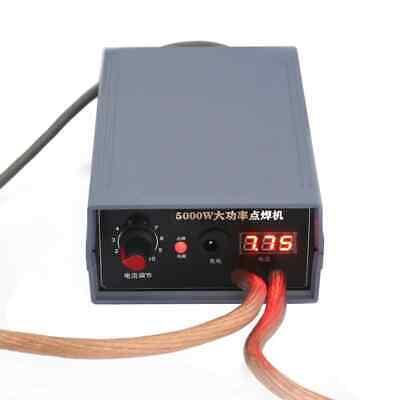 5000w Mini Spot Welder Kit Diy 18650 Battery Pack Welding Tools