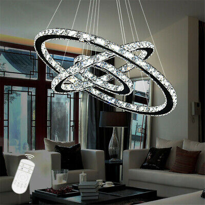 48W-96W LED Kristall Hängeleuchte Kronleuchter Pendellampe Deckenleuchte Lüster (Kristall-pendelleuchte)