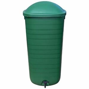 100l 100 litre water butt garden rain storage container tank plastic kit 10777 ebay - Water garden containers for sale ...