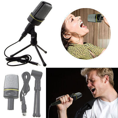 Audio Professional Condenser Microphone Mic Studio Sound Recording w/Shock Mount on Rummage