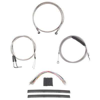 Stainless Cable & Brake Line Cmpt Kit 12