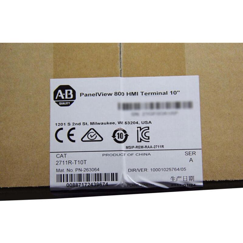 AB UPS Ground  Allen-Bradley PANELVIEW 800 10.4-INCH HMI TERMINAL 2711R-T10T