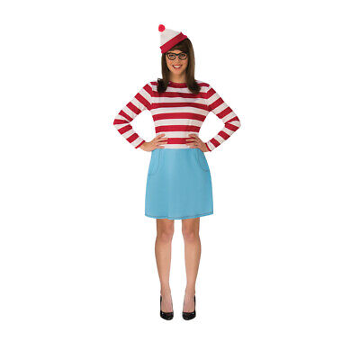 Waldo Costume Plus Size 16-20 (Waldo Wenda)