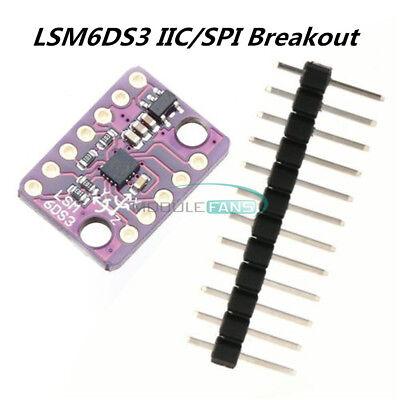 Lsm6ds3 Iicspi 3 Axis Accelerometer Gyroscope 6 Degrees Sensor Transfer Module