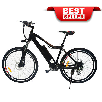 "Electric Bike EBike SAMSUNG Lithium Battery 36V 10.4AH Bicycle 26"" M1226 *New*"