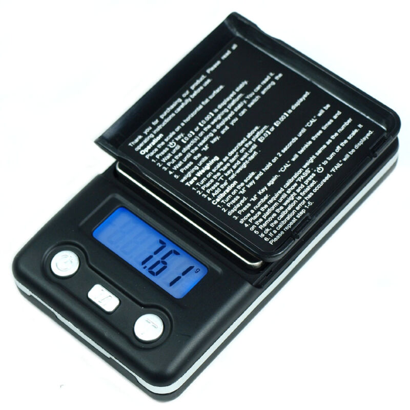 100g x 0.01g  Digital Pocket Scale for Jewelry Herb Coins Reload 0.01 gram