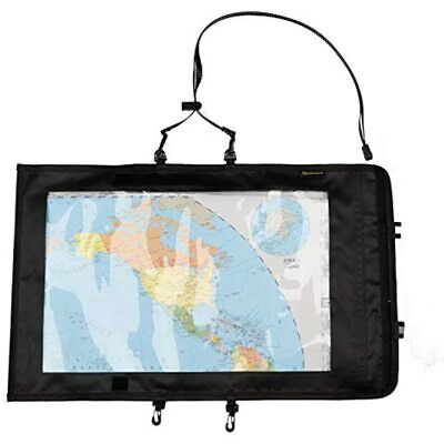 Kosibate Map Case, Waterproof Military Hiking Pouch Holder With Clear Window