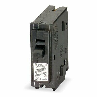 Plug In Circuit Breaker 1P 25 Amp 120VAC (1 Amp Plug In)
