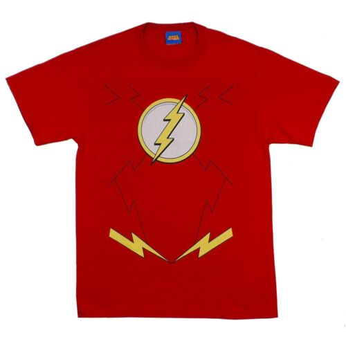 Flash Symbol Costume Dc Comics The New 52 Licensed Adult T Shirt Ebay