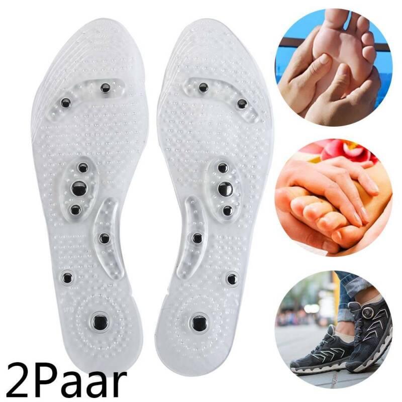 2 Paar Euphoric Feet Akupressur Einlegesohlen Orthopädische Einlegesohlen Pad DE