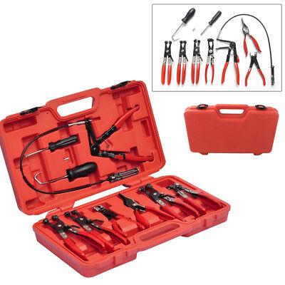 Schlauchklemmenzange Schlauchschellenzange Set Zangen Werkzeug Koffer Zangenset