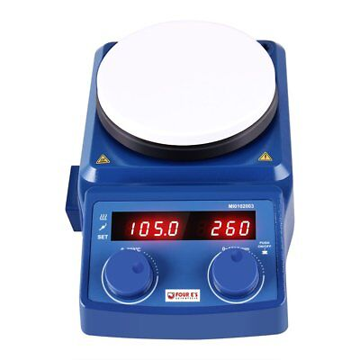 5 Inch Led Digital Hotplate Magnetic Stirrer With Ceramic Coated Plate 50-1500rp