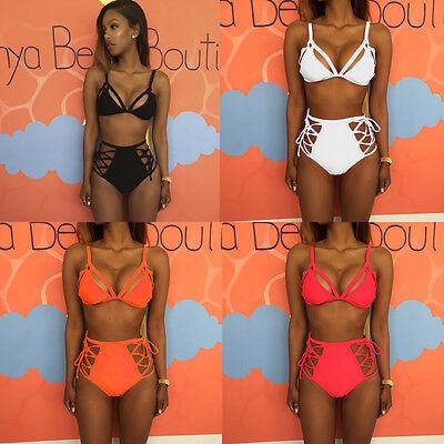 Sexy Womens Push-up Bikini Set Triangle Swimsuit Swimwear Brazilian Bathing Suit