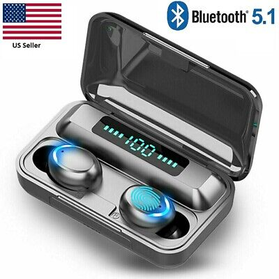 Bluetooth Earbuds for iPhone Samsung Android Wireless Earphones Waterproof F9-32