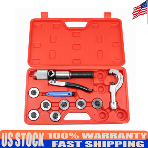 Generic Manual Hydraulic Tube Cutter Expander 7 Lever Tubing Expander Tool Kit