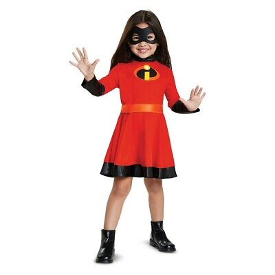 Disguise The Incredibles 2 Violet Halloween Dress Costume with Sound Toddler 2T](Violet The Incredibles Halloween Costume)