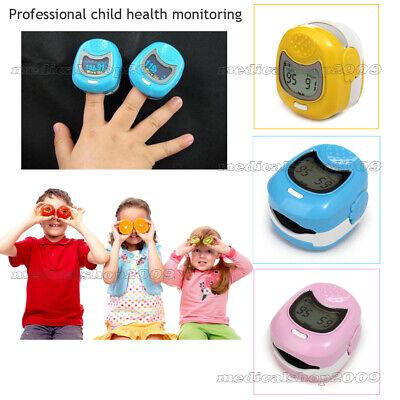 Pediatric Finger Pulse Oximeter Kids Children Spo2 Oximetry Blood Oxygen Monito