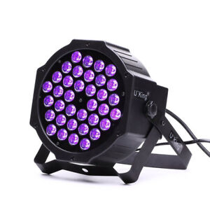 36 LED 72W UV Black Light DMX Par Can Stage Lighting Disco Party DJ Light