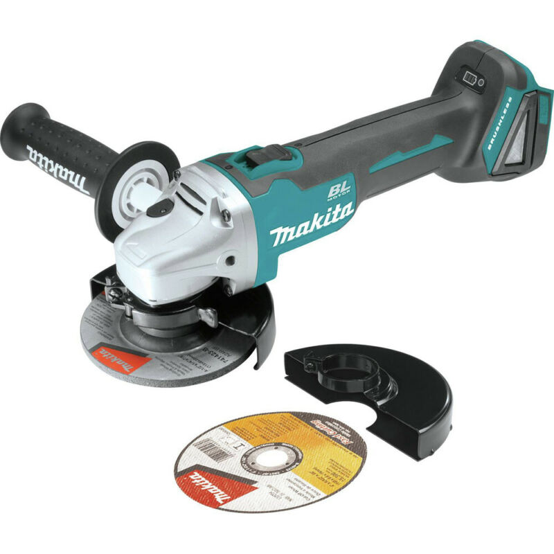 MAKITA 18v Lxt Li-Ion 4-1/2 in. Bl Cut-Off XAG03Z-R (Tool Only) Reconditioned