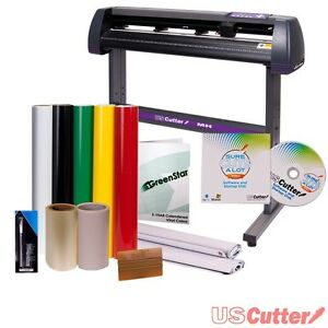 New Vinyl Cutter Best Value Cutting Sign Making Kit w/ Sure Cuts A Lot Pro SALE