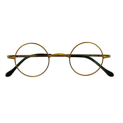 Vintage Eyeglass Frames Round Pure Titanium Spectacles Womens Mens Glasses (Vintage Round Spectacles)