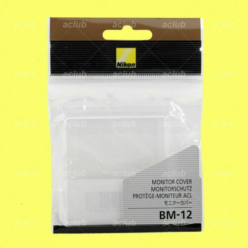 Nikon OEM BM-12 LCD Monitor Cover Screen Protector for D800 D800E D810 D810A