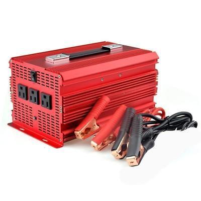 2000W/4600 Watt Power Inverter, BESTEK 12V DC to 110V AC Adapter Charger Supply