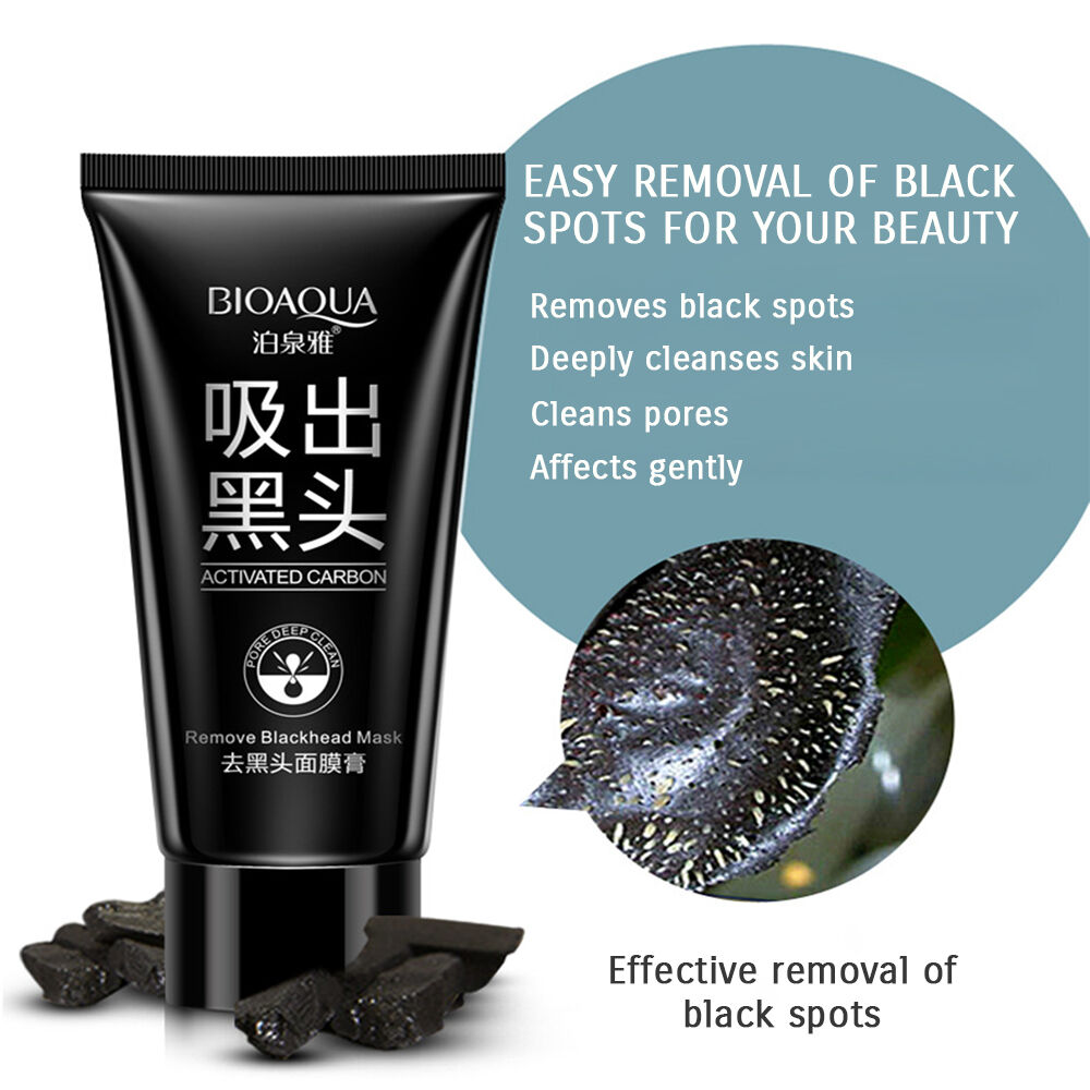 Купить BIOAQUA - BIOAQUA Black Mud Face Mask Blackhead Remover Deep Cleansing Peel Acne Treatment