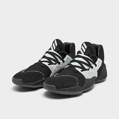 Adidas Harden Vol. 4 - Black & White - NEW Men Basketball Shoe Sz 8-12