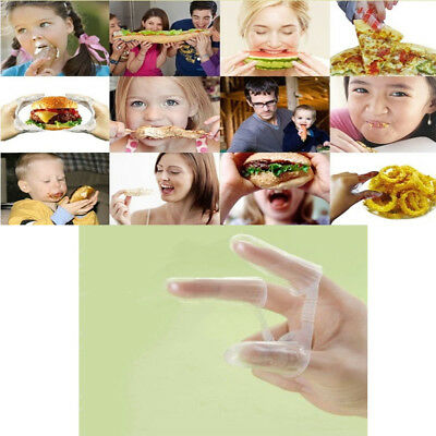 Disposable Food Finger Glove For Chicken Donuts Pizzas Burger Snack 500pcs