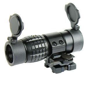 3x magnifier scope ebay