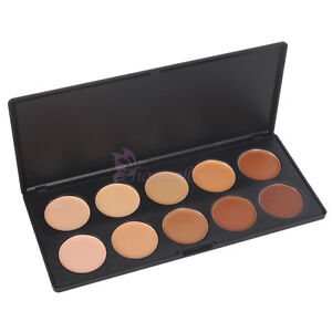 Hot New Pro Makeup 10 Colors Concealer Camouflage Palette Party Wedding