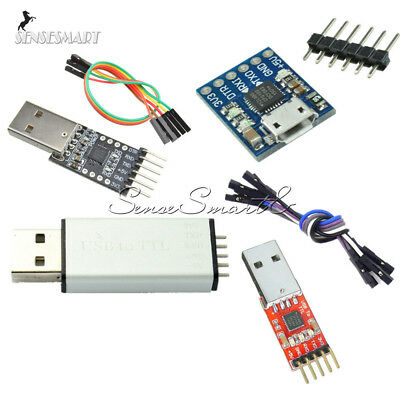 Serial Converter Usb2.0 To Ttl Uart 56pin Module Replace Cp2102 Stc Ft232 Case