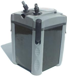 Jebao 502 Aquarium Fish Tank External Filter Pump 650L/H Media Included