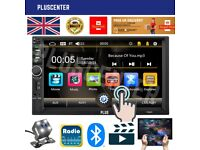 PLUS 7inch MP5 Car Stereo Radio FM Bluetooth AUX USB Mirror Link Android iOS Reverse Camera 7880s