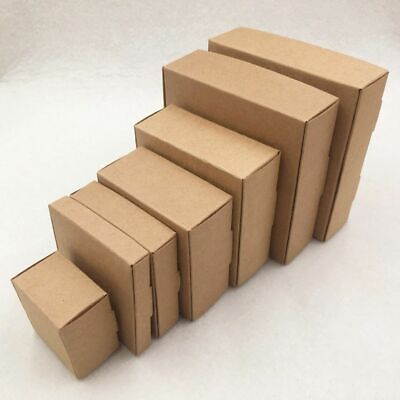 Small Kraft Cardboard Packing Gift Box Handmade 24pcslot