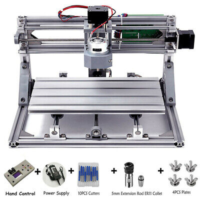 3 Axis Cnc 3018 Mini Router Pvc Pcb Wood Cutting Milling Machineoffline Control