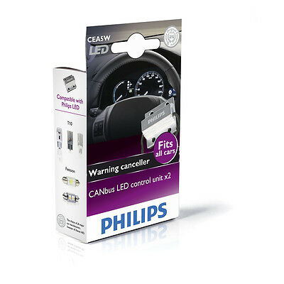 Canbus LED control unit x2 CEA5W 12V 2st. Philips 12956X2 Philips Auto Adapter