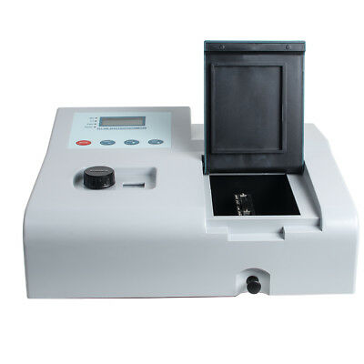 4 Lcd Visible Uv Spectrophotometer Lab Equipment 350-1020nm 110v Tungsten Lamp