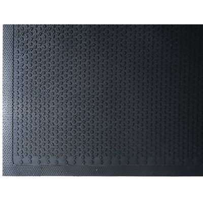 M+A Matting  Entrance Indoor/Outdoor Floor Mat Safety Scrape Nitrile Rubber, 5' - Guard Entrance Mat