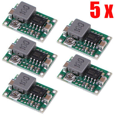 Voltage 1.0v-17v Mini 360 Buck Converter Modules Step Down Powered Supply Lac