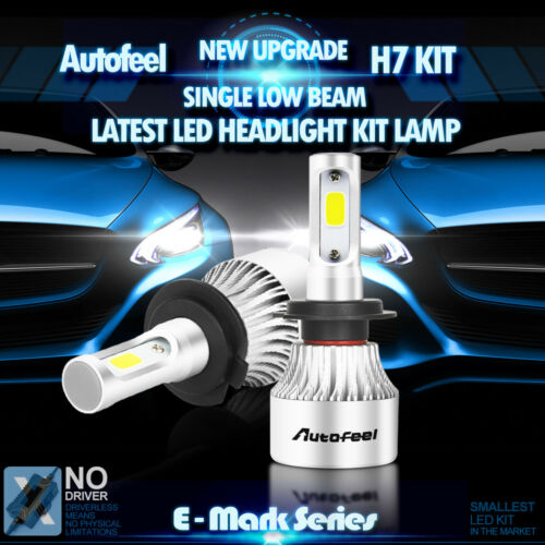 Led - CREE LED Headlight Kit H7 900W White High Power 6000K 135000LM Low Beam Car Bulb