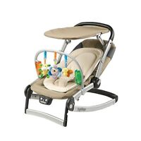 Peg-Perego Sdraietta Melodia Bouncer, Moka. Exsellent condition!