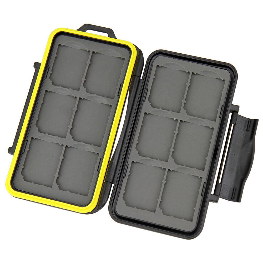 jjc water resistant shockproof storage memory card
