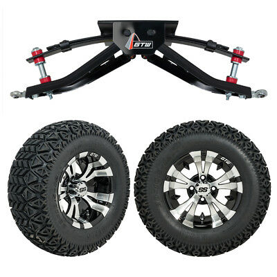 "GTW 6"" Club Car DS Golf Cart Lift Kit with A/T Tires & 12"" Wheels Fits 1982-2003"