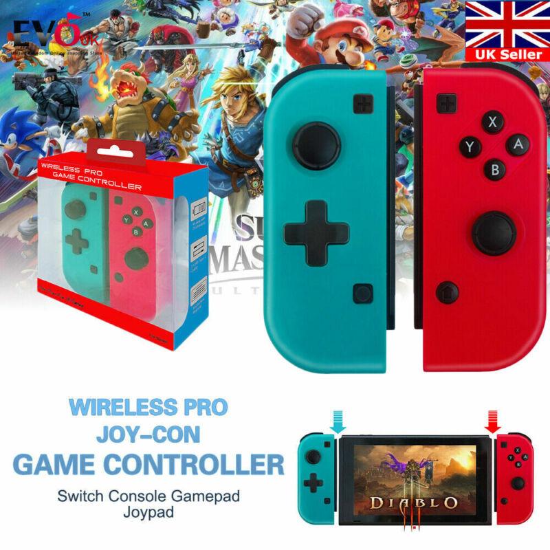 Wireless Pro Joy-Con Controller Console Gamepad Joypad For Nintendo Switch A6T3L