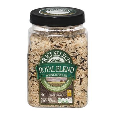 Low Fat Organic Brown Rice - Rice Select-Brown & Wild Rice Royal Blend (4-28 oz jars)