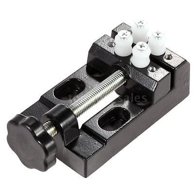 Mini Aluminium Bench Vise Clip-on Jewelry Clamp Vice Small Repairs Tool J2w8