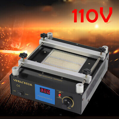 853a Bga Infrared Rework Handheld Hot Plate Preheat Preheating Station 600w Usa